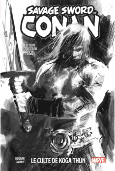 The Savage Sword of Conan Tome 1 N&B