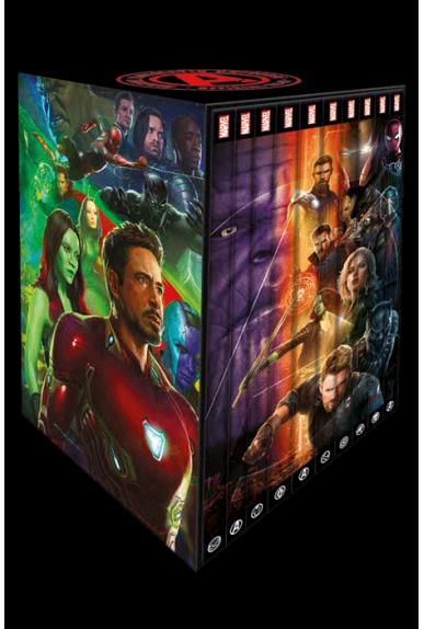 Coffret Marvel Cinematic