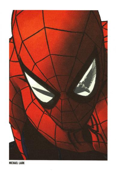 Lithographie Spider-Man par Michael Lark