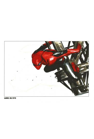 Lithographie Spider-Man par Gabriel Dell'Otto
