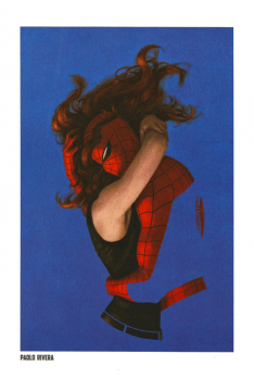 Lithographie Spider-Man par Paolo Rivera