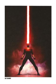Lithographie X-Men par Adi Granov