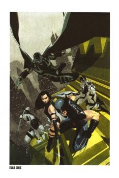 Lithographie Wolverine par Esad Ribic