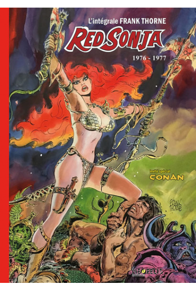 Red Sonja Intégrale Frank Thorne Tome 1