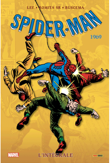 AMAZING SPIDER-MAN L'INTEGRALE 1969 (NED)