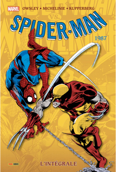 AMAZING SPIDER-MAN L'INTEGRALE 1987