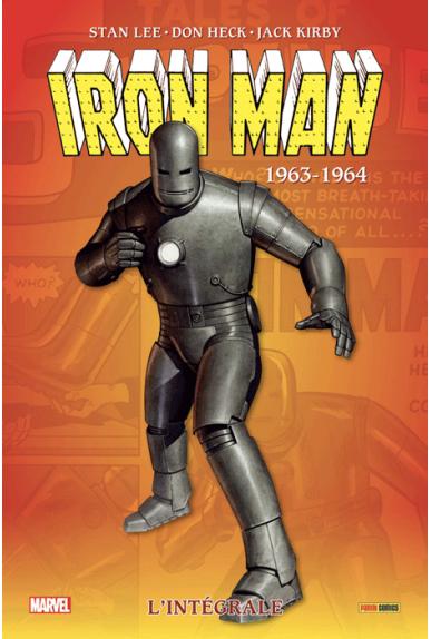 Iron Man L'intégrale 1963-1964 (nouvelle édition)