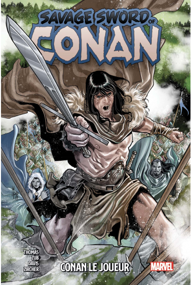 Savage Sword of Conan Tome 2