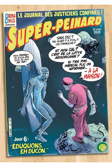 Ex-Libris Captain Marvel par Adam Hugues