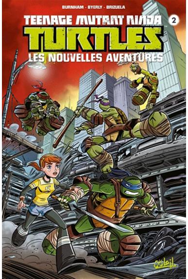 Les nouvelles aventures des Tortues Ninja Tome 2