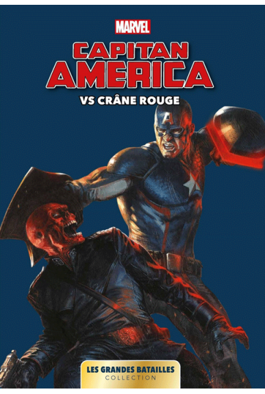 Captain America VS crâne rouge
