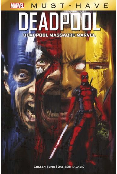 Deadpool Massacre Marvel - Must Have