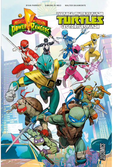 Power Rangers et les Tortues Ninja Tome 1