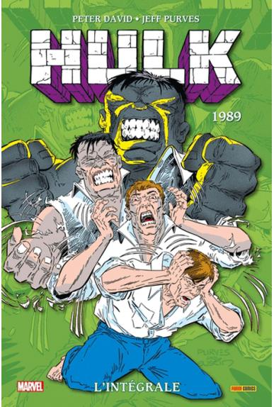 HULK L'INTEGRALE 1989 (nouvelle édition)
