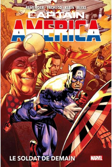 Captain America Tome 2 : Le Soldat de Demain