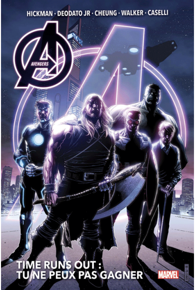 New Avengers Tome 3 : Time runs out