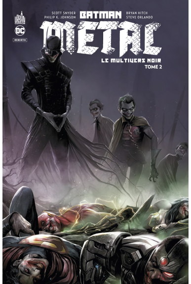 Batman Metal : Le Multivers Noir Tome 2