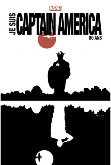 Je suis Captain America édition 80 ans