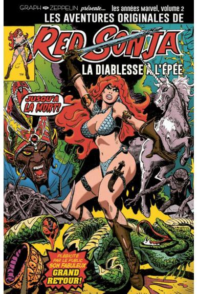 Les aventures de Red Sonja Tome 2