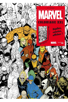 Marvel : L'Univers des Comics à Colorier