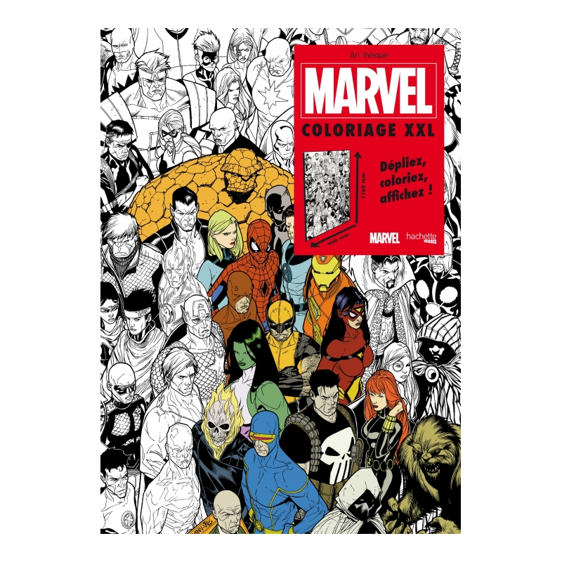 fabulous marvel luunivers des comics colorier with poster. Black Bedroom Furniture Sets. Home Design Ideas