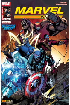 MARVEL UNIVERSE 13 - GUARDIANS 3000 (1 sur 2) - Couverture A