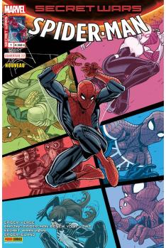 Secret Wars : Spider-Man 1 Couverture A