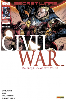 Secret Wars : Civil War 1 - Couverture A