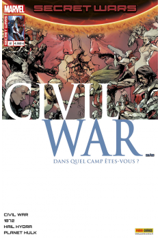 Secret Wars : Civil War 1 - Couverture A