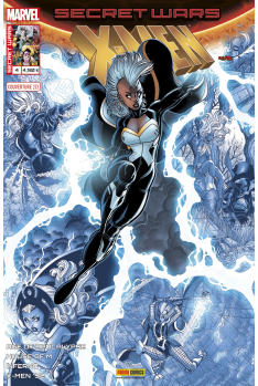 Secret Wars : X-Men 4 - Couverture B