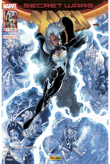 Secret Wars : X-Men 4 - Couverture B