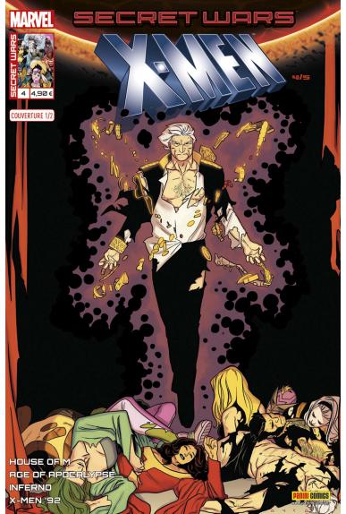 Secret Wars : X-Men 4 - Couverture A