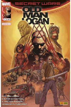 Secret Wars : Old Man Logan 4 - Couverture B