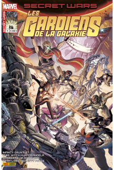 Secret Wars : Gardiens de la Galaxie 4