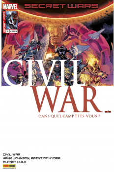 Secret Wars : Civil War 5