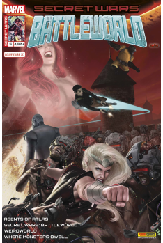 Secret Wars : BattleWorld 5 - Couverture B