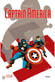 CAPTAIN AMERICA - BLANC