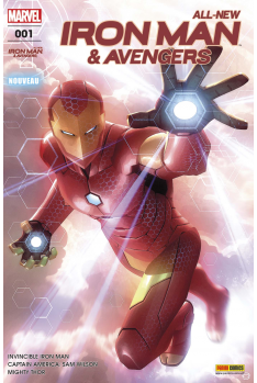 All New Iron Man & Avengers 1