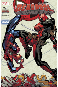 All New Deadpool 1 - Couverture B