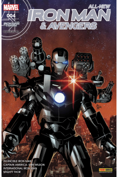 All New Iron Man & Avengers 4 Couverture A
