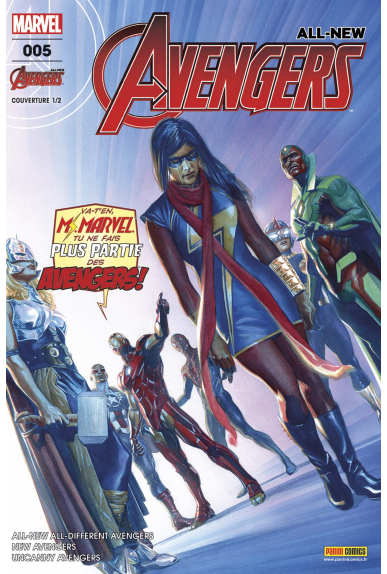 All New Avengers 5 Couverture A