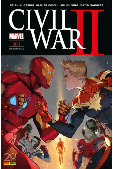 Civil War II - Couverture A