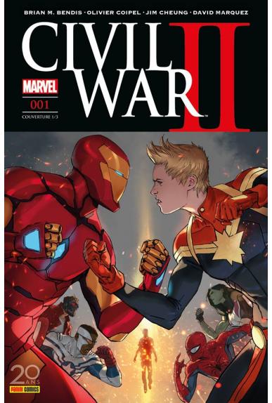 Civil War II - Couverture A