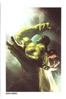 Lithographie Avengers - Hulk par Michael Kormak