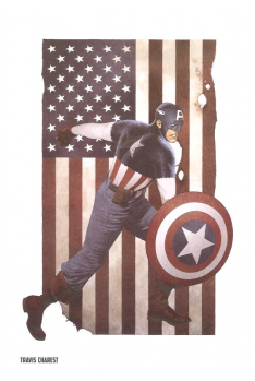 Lithographie Avengers - Hawkeye par David Aja