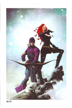 Lithographie Avengers par Jimmy Cheung