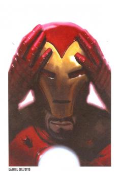 Lithographie Iron Man par Takeshi Miyazawa