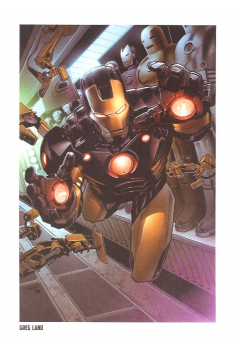 Lithographie Iron Man par Kaare Andrew