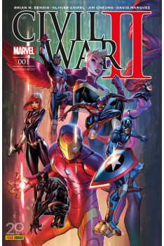 Civil War II - Couverture C