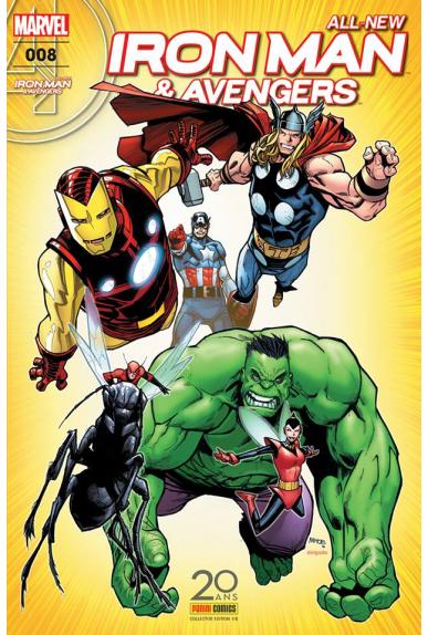All New Iron Man & Avengers 8 Variante